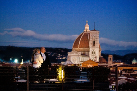 Best View of the Duomo Westin Exelsior New Years Wedding In Florence Best wedding locations in Firenze