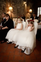 Cute Flower Girl moments New Years Wedding In Florence Best wedding locations in Firenze