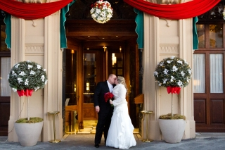 Christmas Wedding at Westin Excelsior New Years Wedding In Florence Best wedding locations in Firenze