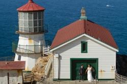 Lighthouse wedding portraits Best San Francisco wedding locations San Fran Wedding photographer