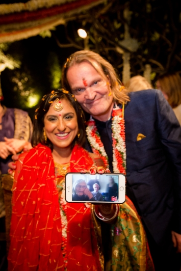 Skype at a wedding Indian wedding traditions Fun New Delhi Wedding Near Lodhi Gardens India