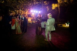 Outdoor Indian Reception Indian wedding traditions Fun New Delhi Wedding Near Lodhi Gardens India