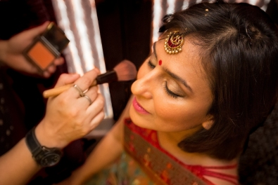 Indian Bridal Makeup Fun New Delhi Wedding Near Lodhi Gardens India