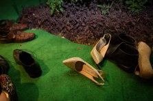 Jimmy Choo Wedding Shoes Fun New Delhi Wedding Near Lodhi Gardens India