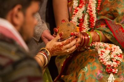 Indian wedding traditions Fun New Delhi Wedding Near Lodhi Gardens India