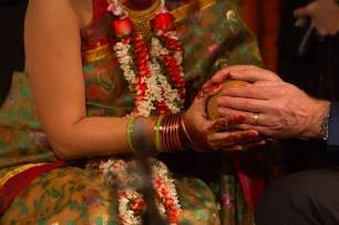 Indian wedding traditions Fun New Delhi Wedding Near Lodhi Gardens India