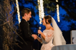 Night wedding photography at Camp Lucy Sacred Oaks