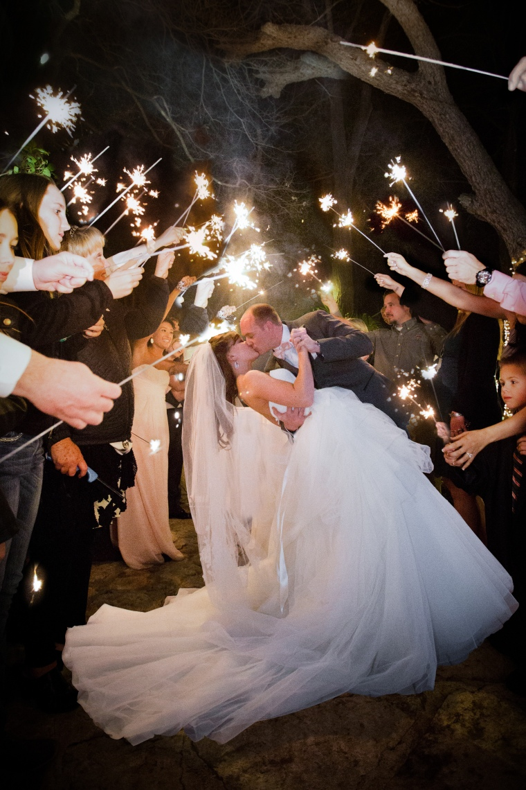 Best wedding reception exits-17