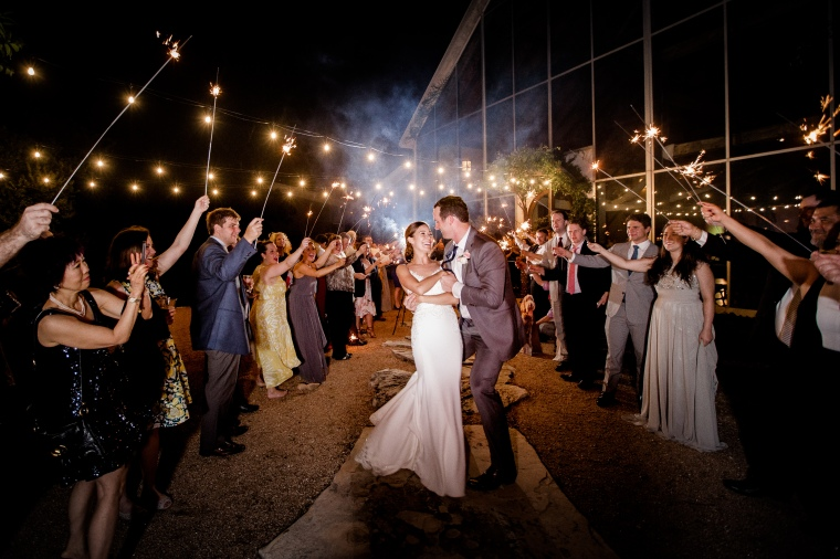 How to do a Wedding Sparkler Exit-6288