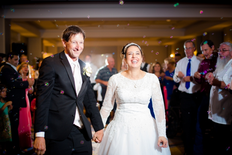 How to have a fun wedding reception exit-8165