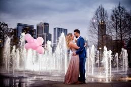 Elizabeth Birdsong Photography Austin Wedding Photographer Butler Park Engagement Photos -12