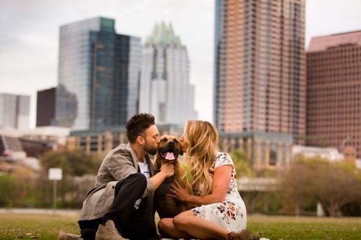 Elizabeth Birdsong Photography Austin Wedding Photographer Butler Park Engagement Photos -3