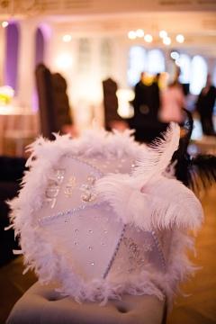 Bridal umbrella Crazy Fun New Orleans Wedding at Il Mercato
