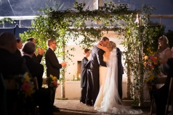 Romantic ceremony arch ideas Crazy Fun New Orleans Wedding at Il Mercato