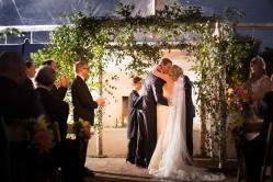 Romantic ceremony arch ideas Crazy Fun New Orleans Wedding at Il Mercato
