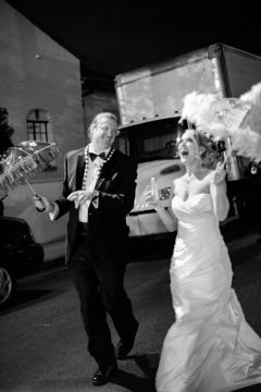Fun Second Line Crazy Fun New Orleans Wedding at Il Mercato
