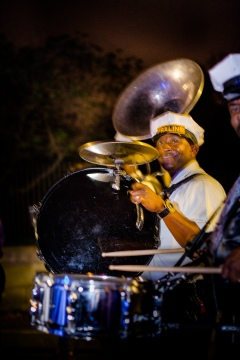 New Orleans wedding musicians Crazy Fun New Orleans Wedding at Il Mercato