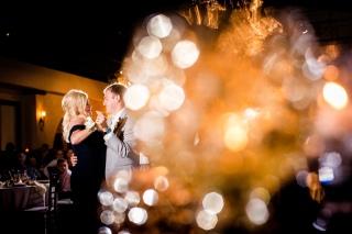 Bokeh with first dances Best Houston Wedding Venue Photographer