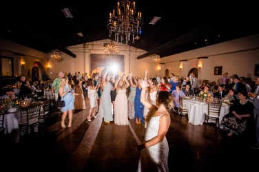 bouquet toss Best Houston Wedding Venue Photographer