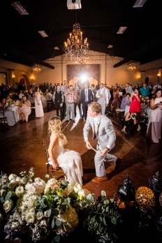 Must have wedding reception photos garter toss Best Houston Wedding Venue Photographer