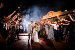 Magmod Sparkler Exit Best Houston Wedding Venue Photographer