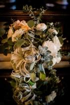 Perfect green bridal floral Best Houston Wedding Venue Photographer