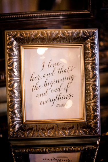 Wedding quote frames Best Houston Wedding Venue Photographer