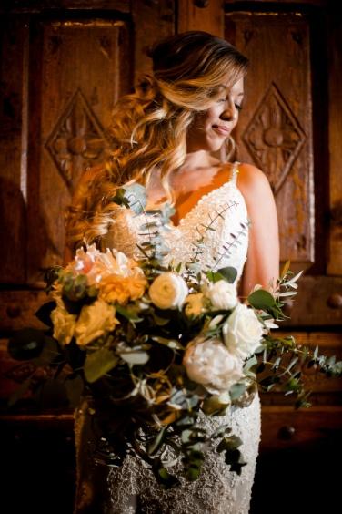 Big Boho Bridal Bouquet Best Houston Wedding Venue Photographer