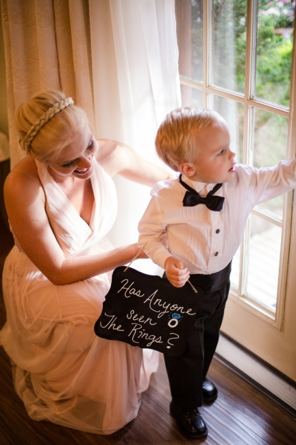 Best ring bearer signs Best Houston Wedding Venue Photographer