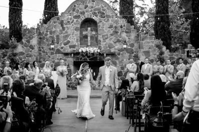 Ceremony Exit Best Houston Wedding Venue Photographer
