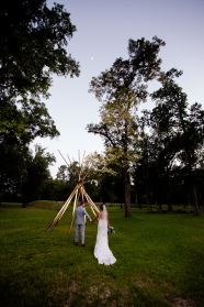 Teepee bride and groom photos Best Houston Wedding Venue Photographer