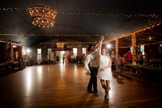 @PhotographerAmy Elizabeth Birdsong Photography Twin Sisters Dance Hall Wedding Photos-57