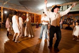 @PhotographerAmy Elizabeth Birdsong Photography Twin Sisters Dance Hall Wedding Photos-68