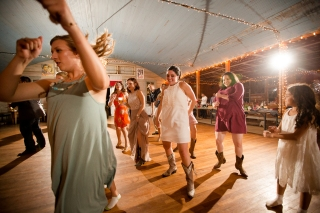 @PhotographerAmy Elizabeth Birdsong Photography Twin Sisters Dance Hall Wedding Photos-71
