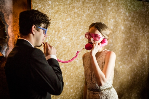 Wedding Photo booth ideas Rainey Street Austin Wedding at Hotel Van Zandt Made with Magmod