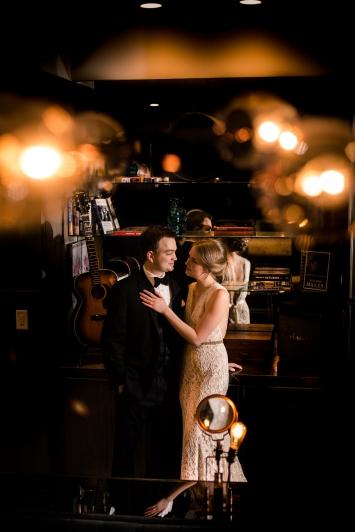 Unique Austin Hotel Rainey Street Austin Wedding at Hotel Van Zandt Made with Magmod