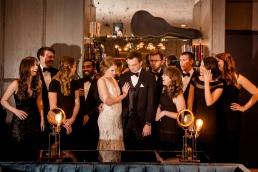 Fun wedding party ideas Rainey Street Austin Wedding at Hotel Van Zandt Made with Magmod