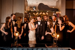 Fun wedding party ideas Rainey Street Austin Wedding at Hotel Van Zandt Made with Magmod