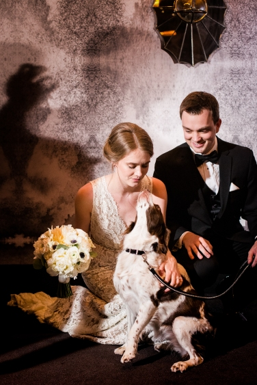 Puppy Ring Bearer Rainey Street Austin Wedding at Hotel Van Zandt Made with Magmod