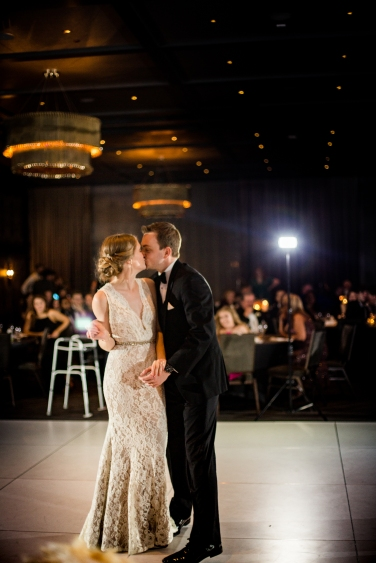 First Dance Rainey Street Austin Wedding at Hotel Van Zandt Made with Magmod