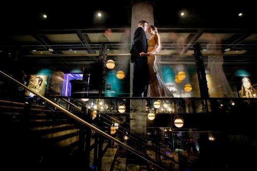 Timelapse wedding portrait Rainey Street Austin Wedding at Hotel Van Zandt Made with Magmod