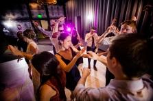 Infinity Sound Labs DJ Hexum Rainey Street Austin Wedding at Hotel Van Zandt Made with Magmod