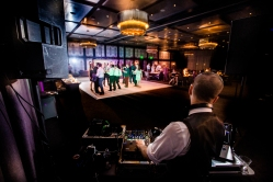 DJ Hexum Rainey Street Austin Wedding at Hotel Van Zandt Made with Magmod
