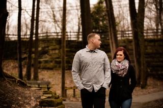 @PhotographerAmy Elizabeth Birdsong Photography Cleveland Engagement Photos Olmsted Falls-13