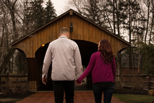 @PhotographerAmy Elizabeth Birdsong Photography Cleveland Engagement Photos Olmsted Falls-2