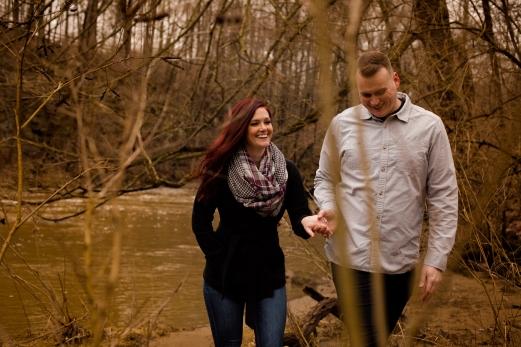 @PhotographerAmy Elizabeth Birdsong Photography Cleveland Engagement Photos Olmsted Falls-26