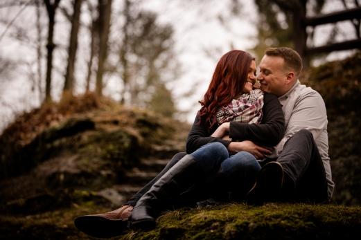 @PhotographerAmy Elizabeth Birdsong Photography Cleveland Engagement Photos Olmsted Falls-35