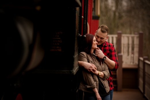 @PhotographerAmy Elizabeth Birdsong Photography Cleveland Engagement Photos Olmsted Falls-38
