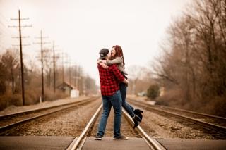 @PhotographerAmy Elizabeth Birdsong Photography Cleveland Engagement Photos Olmsted Falls-44
