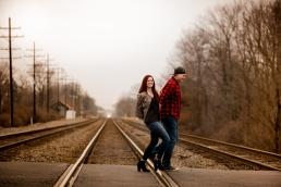 @PhotographerAmy Elizabeth Birdsong Photography Cleveland Engagement Photos Olmsted Falls-47